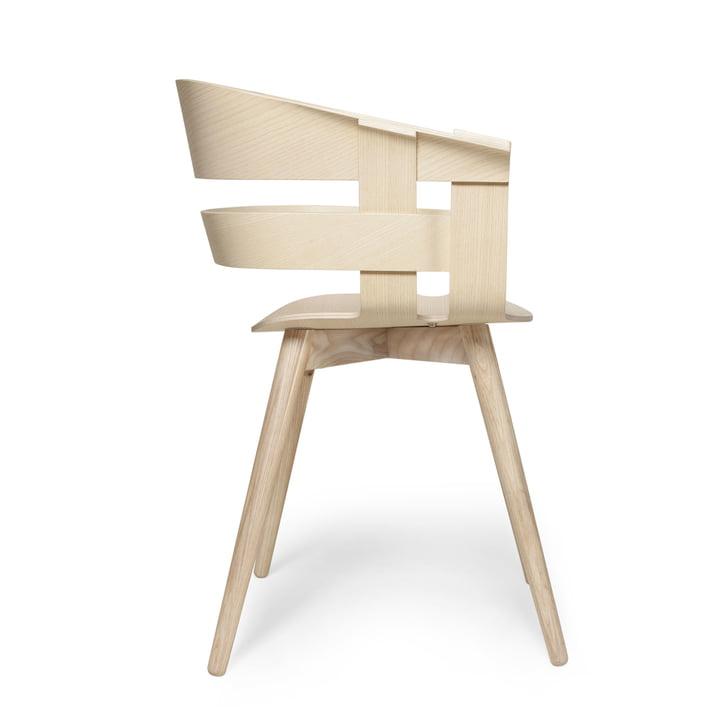 Der Wick Chair Wood in Esche von Design House Stockholm