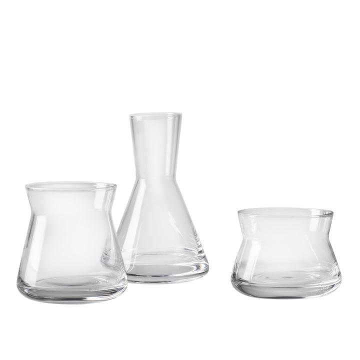 Trio Vasen von Design House Stockholm in Klar
