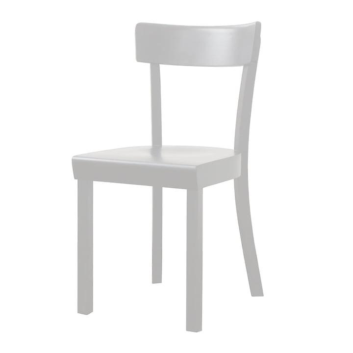 Frankfurter Stuhl von Stoelcker in Weiß gebeizt matt lackiert