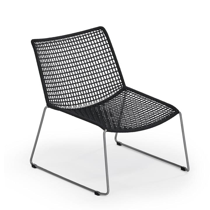Slope Lounge Sessel von Weishäupl in Schwarz