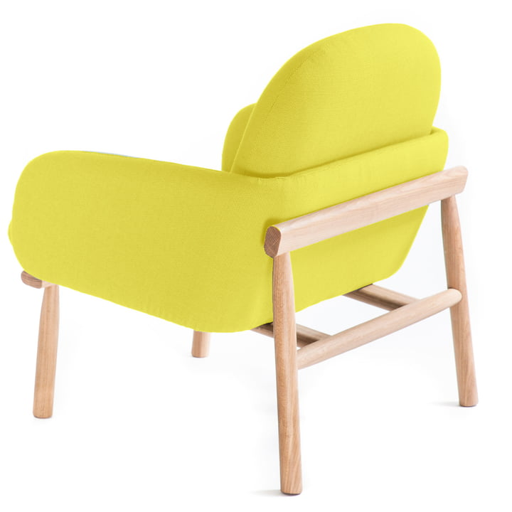 Gekrümmte Sitzfläche und bequeme Rückenlehne