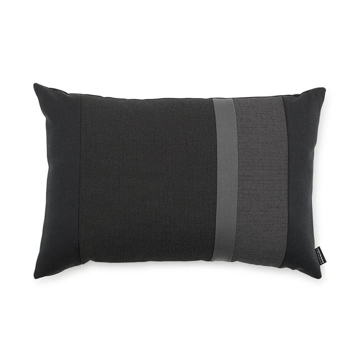 Line Cushion von Normann Copenhagen in der Grösse 40 x 60 cm in dunkelgrau
