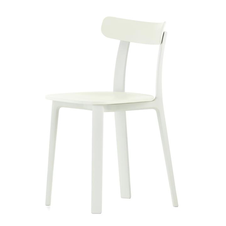 Der All Plastic Chair in weiss von Vitra