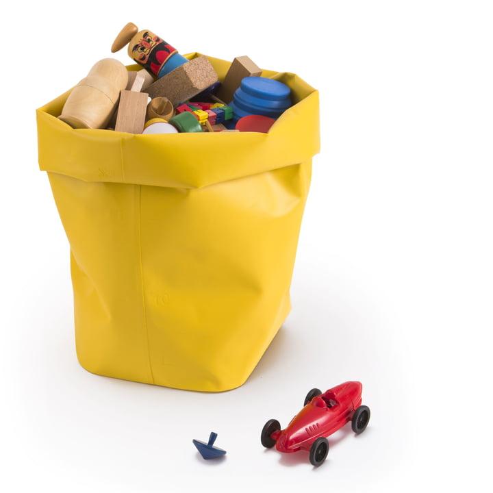 Roll-Up: Korb für Spielzeug