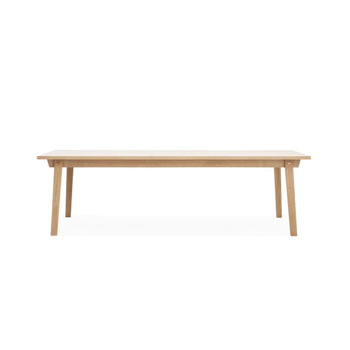 Slice Table Wood 90 x 250 cm von Normann Copenhagen aus Eiche