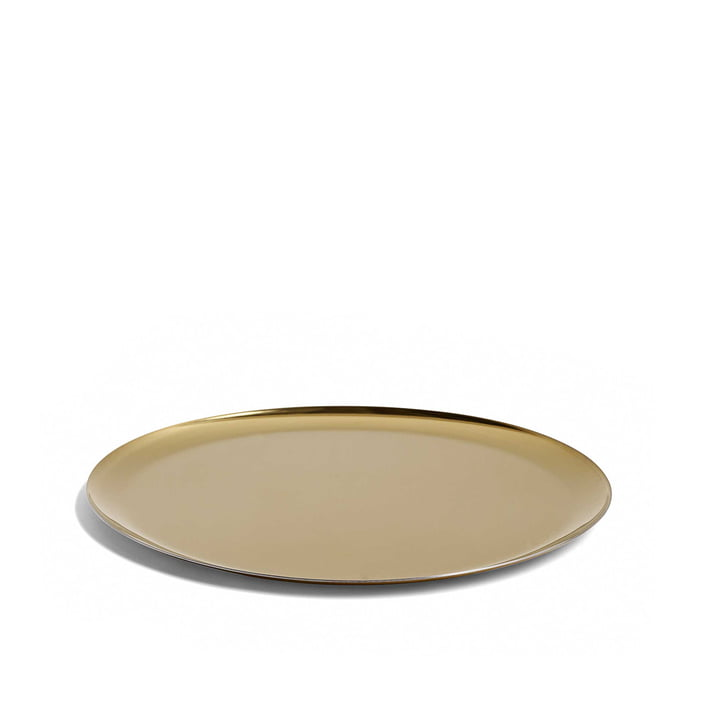 Serving Tray von Hay in gold