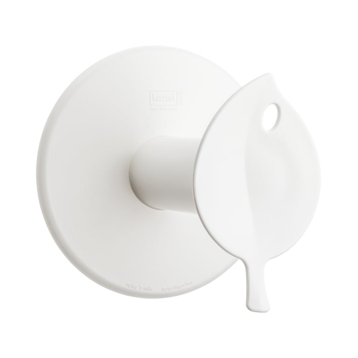 Sense WC-Rollenhalter von Koziol in Weiss
