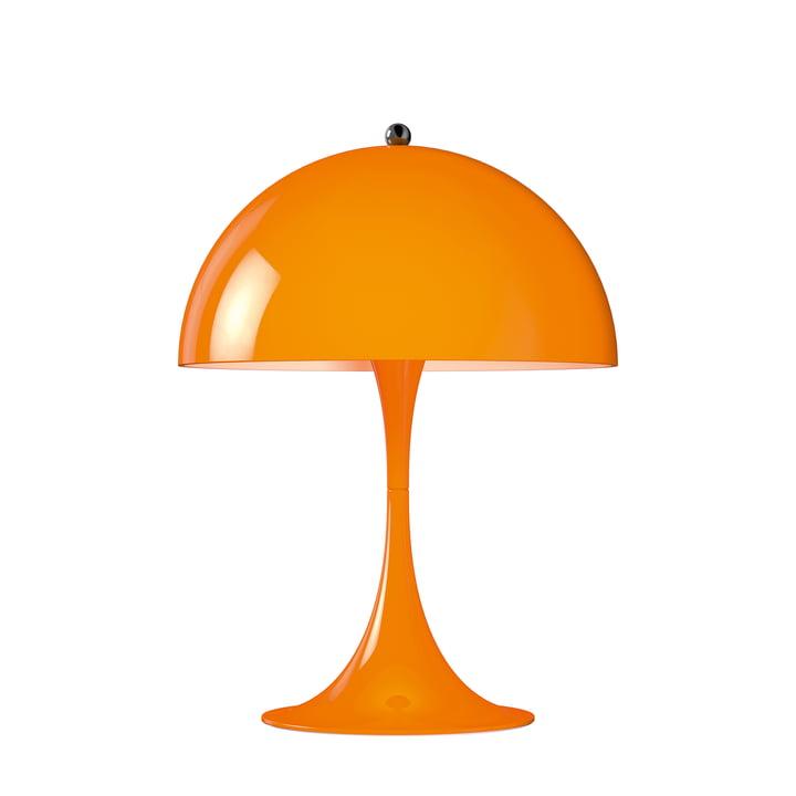 Panthella Mini Tischleuchte Ø 25 cm von Louis Poulsen in Orange