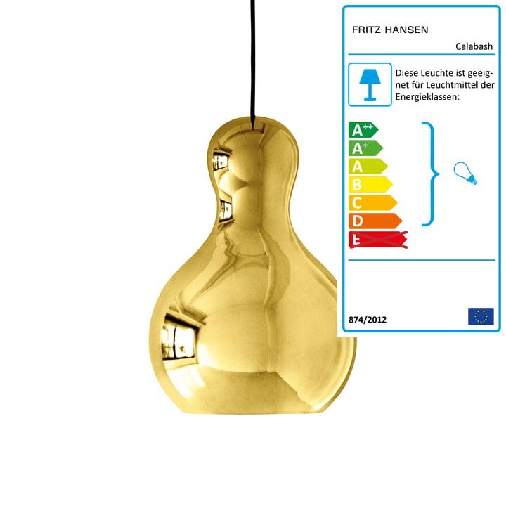 Calabash Pendelleuchte P3 von Lightyears in Gold
