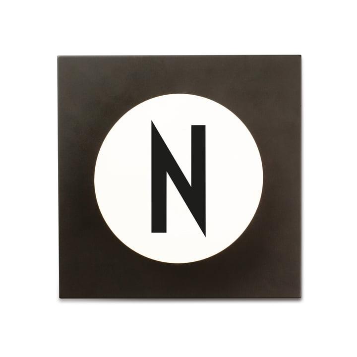 Hook2 Letter Wandhaken N von Design Letters