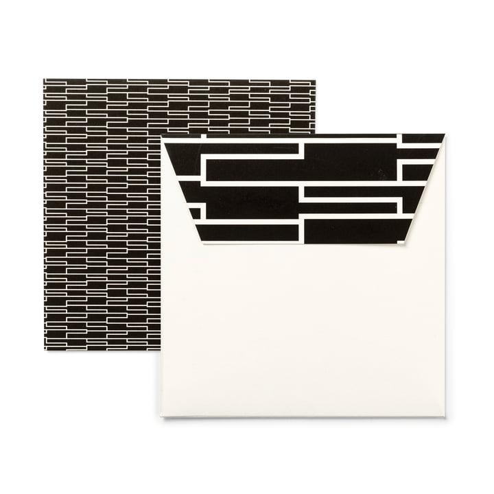Design Letters - AJ Design Karten (6er Set), Royal vintage
