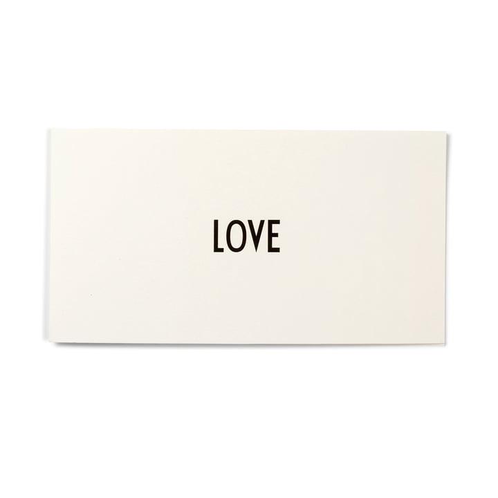 Design Letters - AJ Grusskarte, Love
