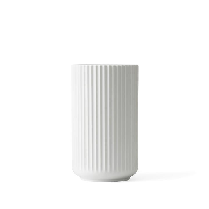 Lyngby Porcelæn - Lyngbyvase, weiss matt, H 12 cm