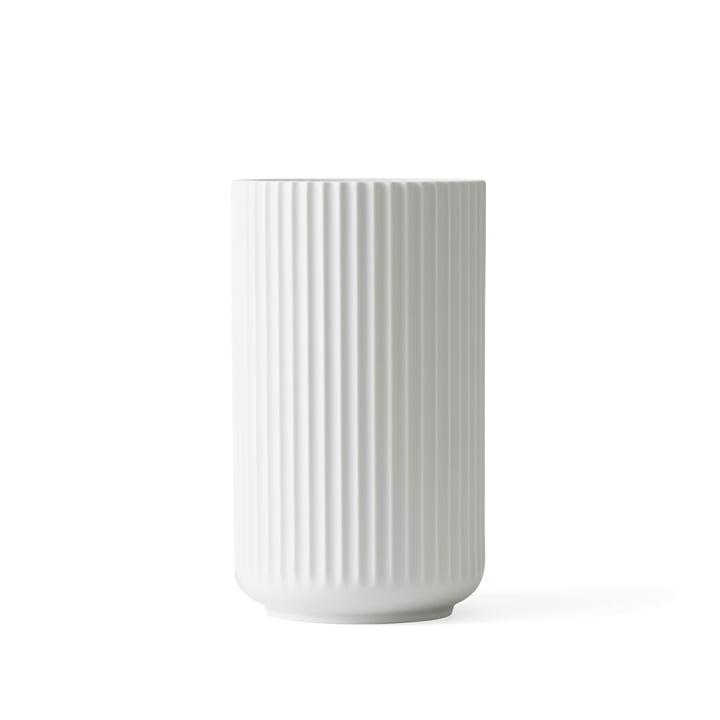 Lyngby Porcelæn - Lyngbyvase, weiss matt, H 15 cm