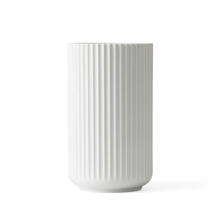 Lyngbyvase H 15,5 cm von Lyngby Porcelæn weiss