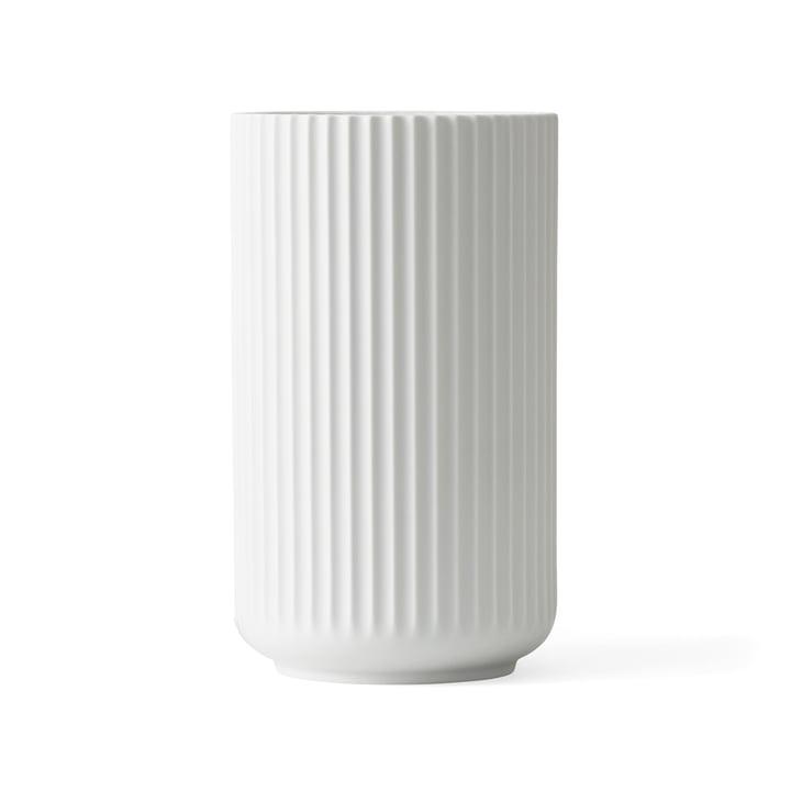 Lyngbyvase H 20,5 cm von Lyngby Porcelæn weiss