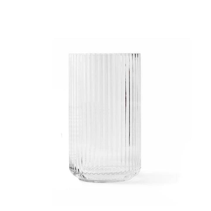 Glasvase H 15,5 cm von Lyngby Porcelæn in transparent