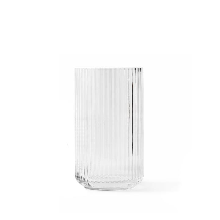 Glasvase H 12 cm von Lyngby Porcelæn in transparent