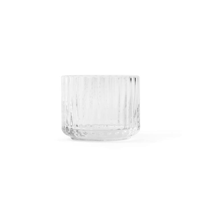 Teelichthalter transparent ø 6,7 cm von Lyngby Porcelæn