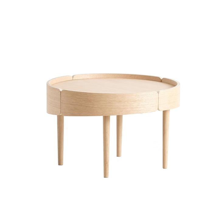 Skirt Coffee Table Ø 60 cm von Woud in Eiche