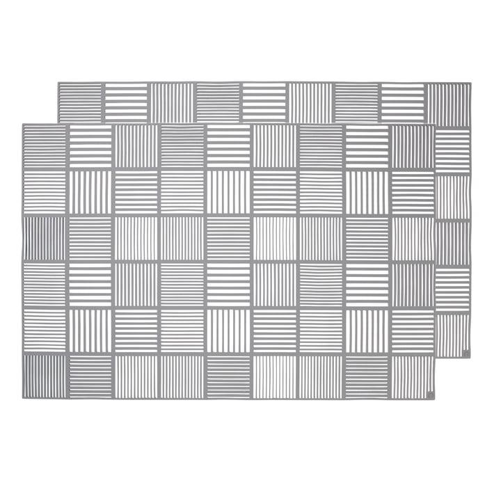 Nanna Ditzel Platzdeckchen 30 x 45 cm von Rosendahl in Grau