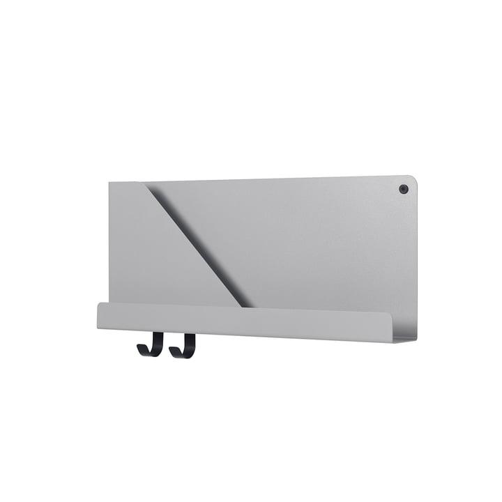 Small Folded Shelve 51 x 22 cm von Muuto in Grau