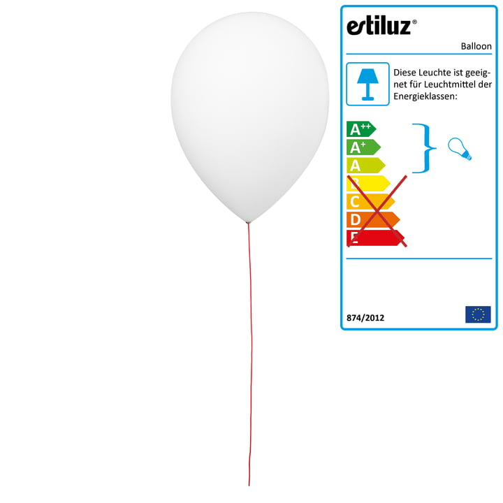 Balloon Wandleuchte von Estiluz