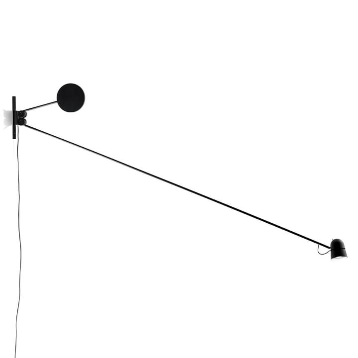 Counterbalance Wandleuchte von Luceplan in Schwarz