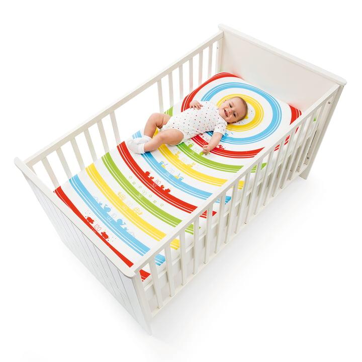 Grow Up! Kinder-Spannbetttuch von Donkey Products