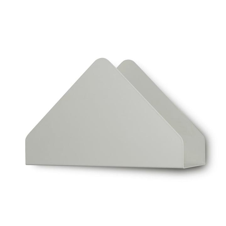 Kuvert Shelf von Skagerak in Silver White