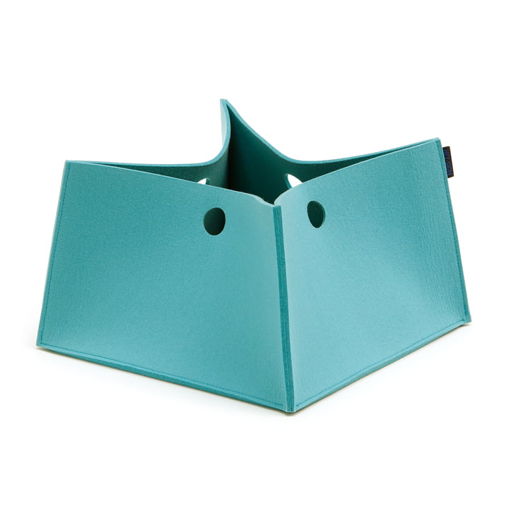 Die Hey Sign - Big Box, M in pastelltürkis