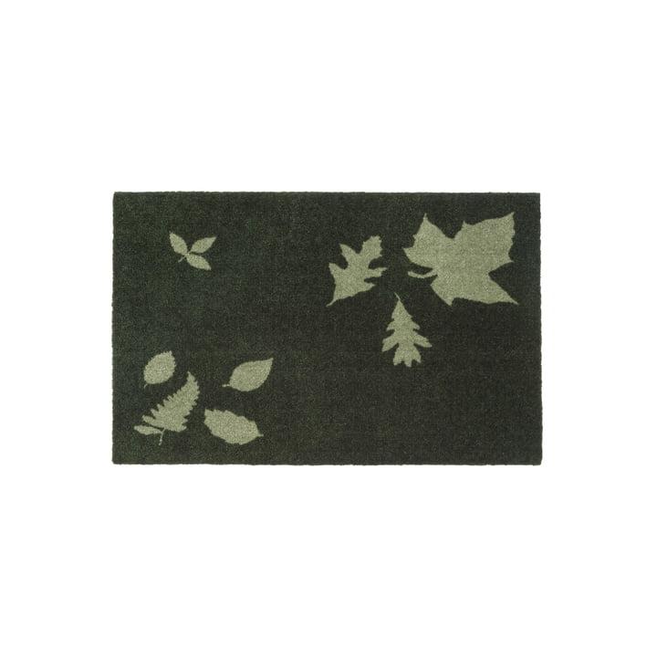 tica copenhagen - Leaf Mega Fussmatte, 60 x 90 cm, grün