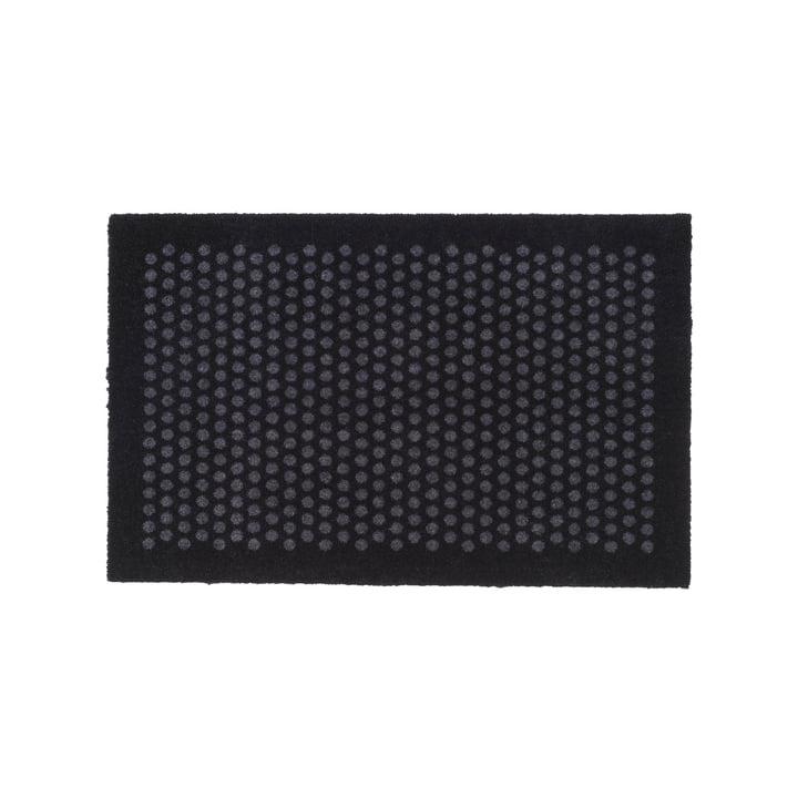 tica copenhagen - Dot Fussmatte, schwarz / grau, 60 x 90 cm