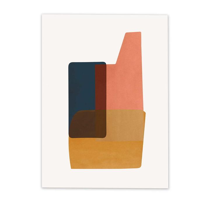 Abstraction Poster 2 von ferm Living