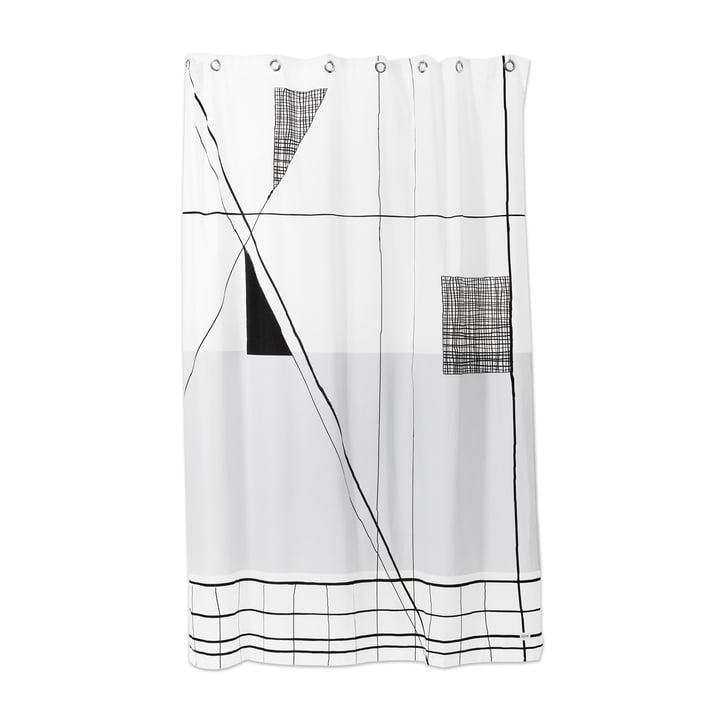 Trace Duschvorhang von ferm Living