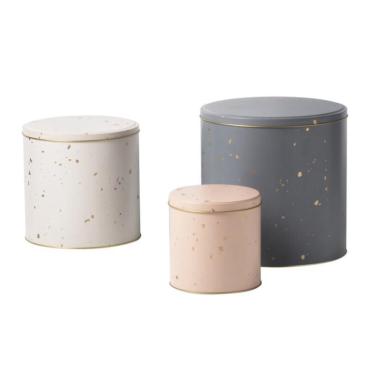 Confetti Aufbewahrungsbox (3er-Set) von ferm Living