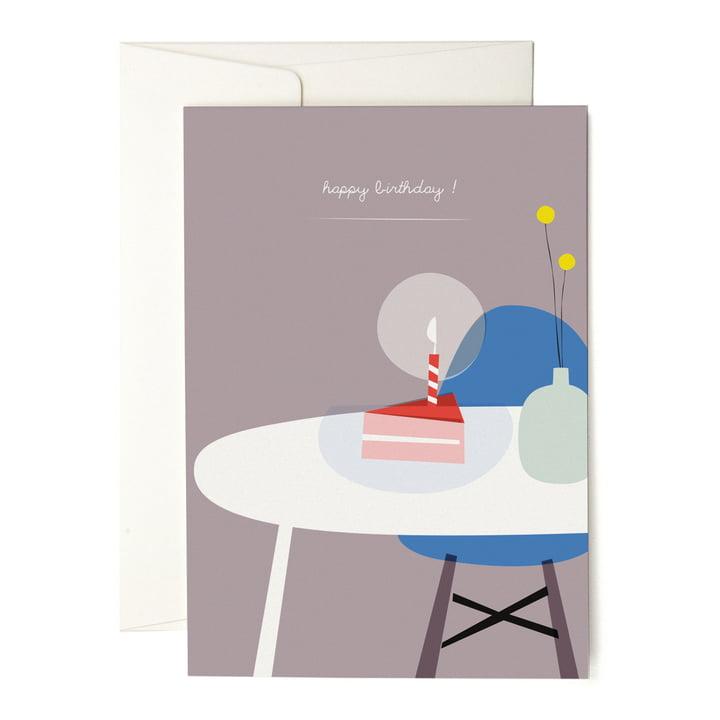 Die pleased to meet - A Piece of Cake Grusskarte