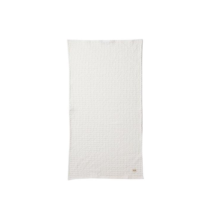 ferm Living - Handtuch, weiss