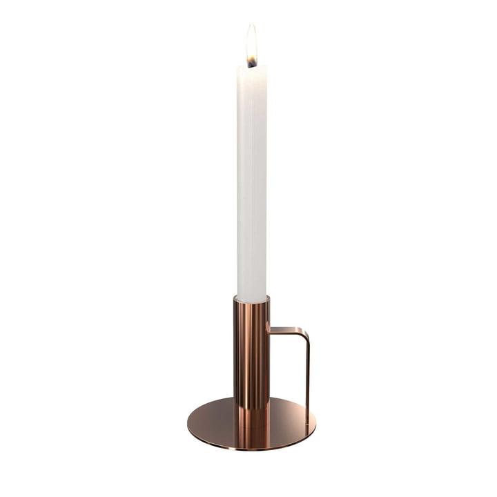 Der Kerzenhalter von Frost, ø 100 x 100, kupfer