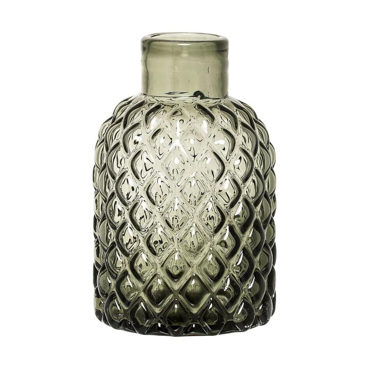 Die Bloomingville - Glas-Vase in grün