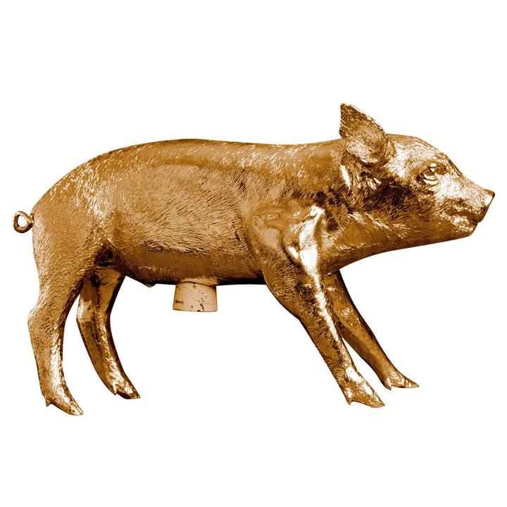 Areaware - Pig Bank Sparschwein, gold