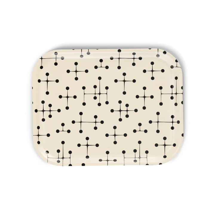 Classic Tray medium Dot Pattern light von Vitra