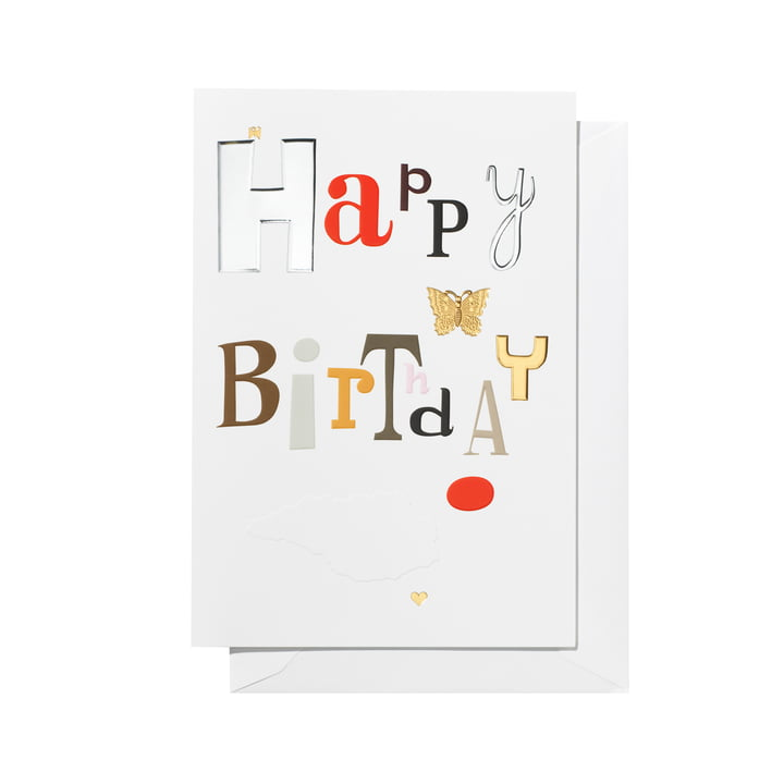 Greeting Card Happy Birthday von Vitra