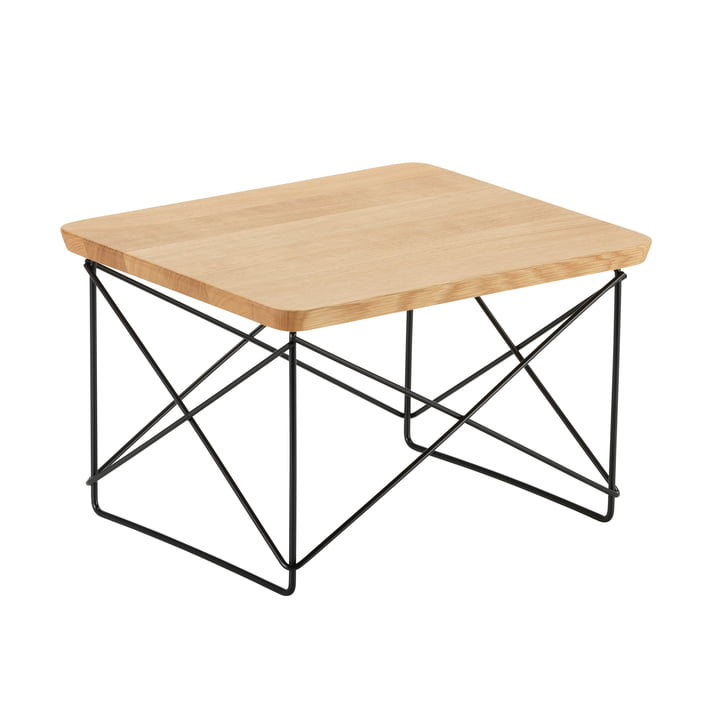Eames Occasional Table LTR von Vitra in Eiche / basic dark