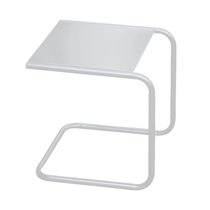 Fiam - Club Beistelltisch, Aluminium weiss / weiss