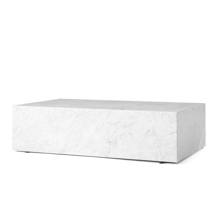 Plinth Couchtisch von Menu in Weiss