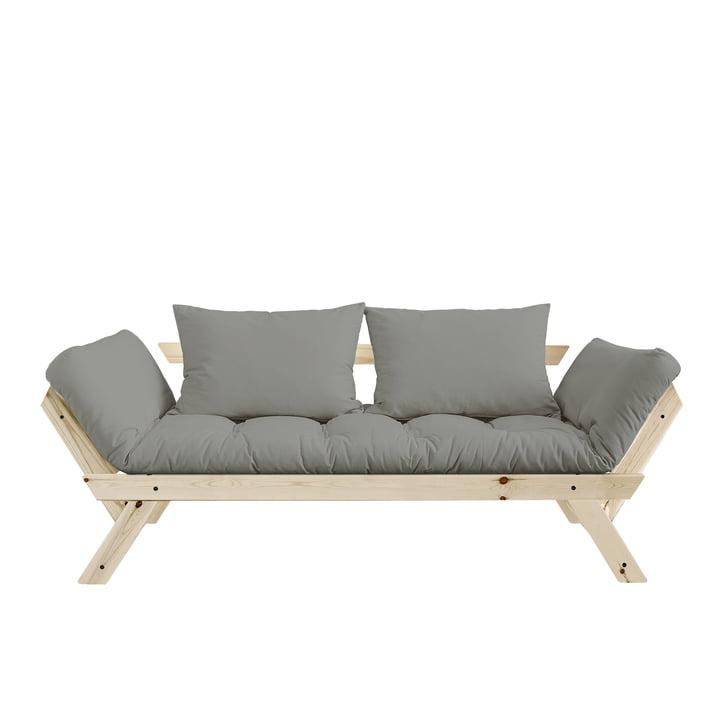 Bebop Sofa von Karup in Kiefer natur / Grau - 746