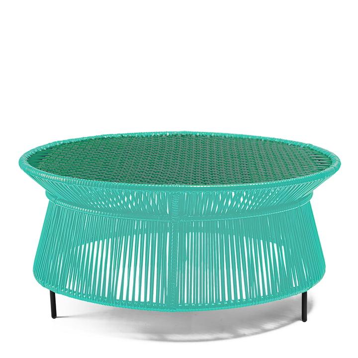 ames - caribe Low Table, mint / grün / schwarz