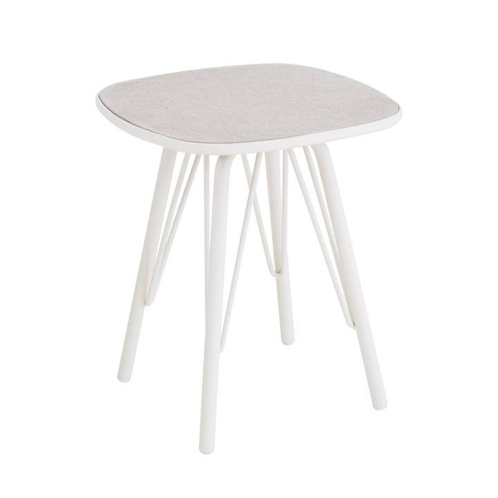 Lyze Tisch 40 x 40 cm von Emu in Weiss