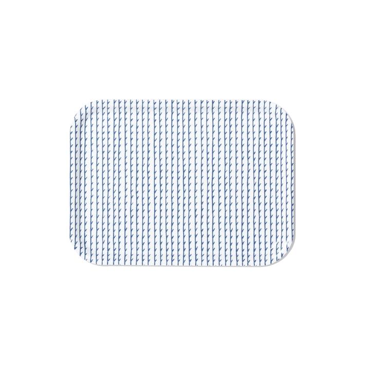 Rivi Tablett in klein von Artek in Weiss / Blau